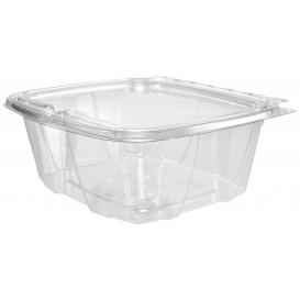 Plastic deli Container PET onverbrekelijk koepel Deksel Plat 950ml (200 stuks)