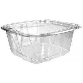 Plastic deli Container PET onverbrekelijk koepel Deksel Plat 1893ml (100 stuks)
