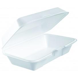 Schuim stokbrood Container wit 2,25x1,40cm (250 stuks)
