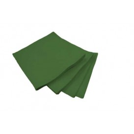 Papieren servet Micropunt groen 20x20cm 2C (2.400 stuks)