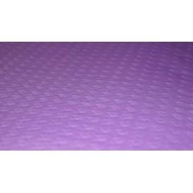Papieren tafelkleed rol lila 1x100m. 40g (6 stuks)