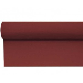 Airlaid Tafelkleed rol bordeauxrood 1,20x25m P1,2m (1 stuk)