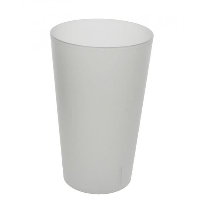 Plastic PP beker Herbruikbaar transparant 330ml (560 stuks)