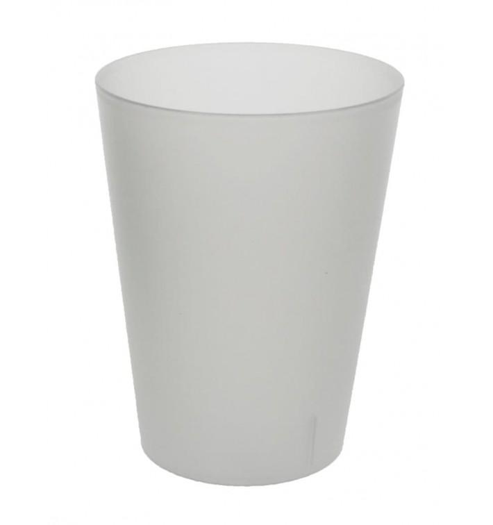 Plastic pint PP glas Herbruikbaar transparant 500ml (384 stuks)