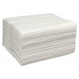 Wegwerp Spunlace handdoek voor manicure pedicure wit 30x40cm 50g/m² (2000 stuks)