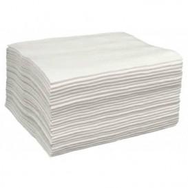 Wegwerp Spunlace handdoek voor manicure pedicure wit 30x40cm 50g/m² (100 stuks)