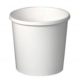 Papieren Container wit 12Oz/355ml Ø9,1cm (500 stuks)