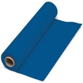 Papieren tafelkleed rol blauw 1x100m. 40g (6 stuks)