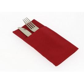 """Zakvouw airlaid servetten """"Kanguro"""" rood 40x40cm (480 stuks)"""
