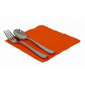 Servilleta de Papel Naranja 33x33cm 1 Capa (3360 Uds)