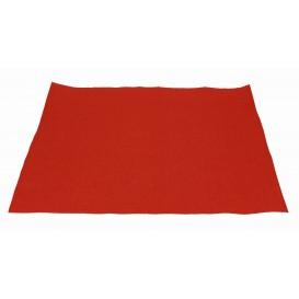 Papieren Placemats 30x40cm rood 40g (1000 stuks)