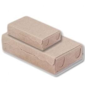 Papier bakkerij doos kraft 20x13x5,5cm 1000g (100 stuks)