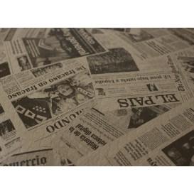 """Voorgesneden papieren tafelkleed 1x1m kraft """"Prensa"""" 37g 1x1m (400 stuks)"""