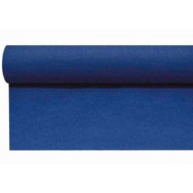Airlaid tafelloper blauw 0,4x48m P1,2m (6 stuks)