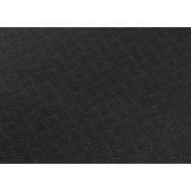 Mantel de Papel Cortado 1x1 metro Negro 40g (400 Uds)