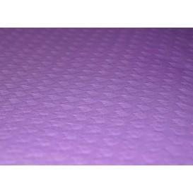 Voorgesneden papieren tafelkleed lila 40g 1x1m (400 stuks)