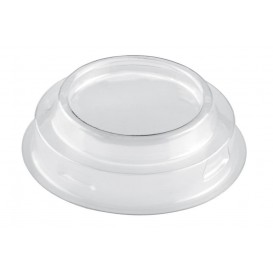 Plastic PET Deksel voor Plastic Proeving beker Kegel vormig hoog transparant 70 ml (25 stuks)