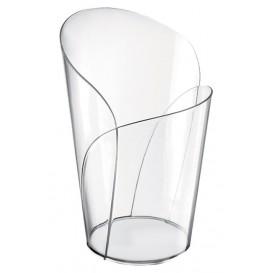 "Plastic PS proefbeker ""Blossom"" transparant 90ml (300 stuks)"