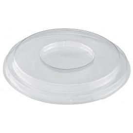 Plastic Deksel voor Proeving Kom PS medium maat Dessert transparant PET 250ml (168 stuks)