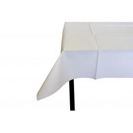Voorgesneden papieren tafelkleed wit 40g 1x1m (480 stuks)