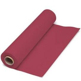 Papieren tafelkleed rol bordeauxrood 1x100m. 40g (1 stuk)