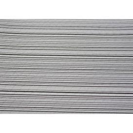 """Voorgesneden papieren tafelkleed """"Basic zwart"""" 37g 1x1m (400 stuks)"""