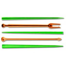"Plastic vleespennen ""Snack Stick"" meer kleurig 9cm (1650 stuks)"