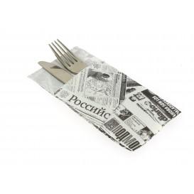 """Zakvouw papieren servet """"Press"""" 40x40cm (30 stuks)"""