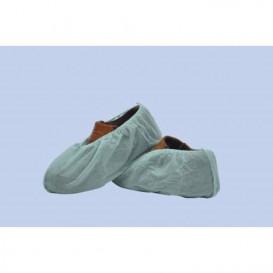 Wegwerp plastic schoen omhulsel PP wit (1000 stuks)