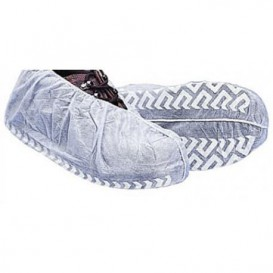 "Wegwerp plastic schoen omhulsel ""TST"" Anti-Slip wit (1000 stuks)"