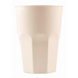 Plastic beker voor Cocktail PP wit Ø8,4cm 350ml (20 stuks)