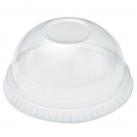 Plastic PET koepel Deksel Kristal Ø9,8cm (100 stuks)