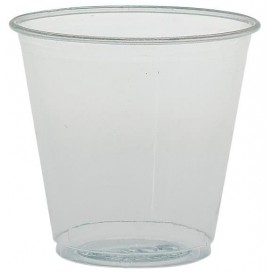 Plastic PS Shotje Kristal 104ml Ø66mm (100 stuks)