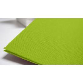 Papieren servet dubbel punt pistache 40x40cm (1.200 stuks)