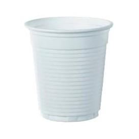 Plastic PS beker wit 166ml Ø7,0cm (100 stuks)