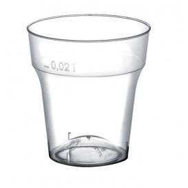 Vaso de Plastico Moon Chupito Transp. PS 20 ml (1000 Uds)