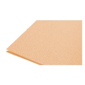 Papieren servet dubbel punt zalm 40x40cm (1.200 stuks)