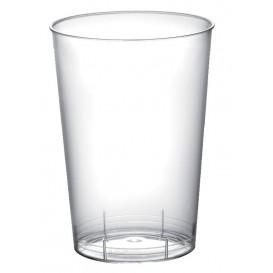 """Plastic PS Shotje """"Moon"""" transparant 100 ml (50 stuks)"""
