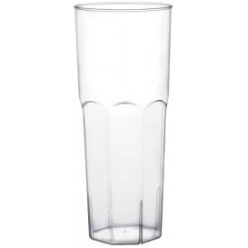 Plastic Collins PS glas transparant Ø6,5cm 350ml (10 stuks)