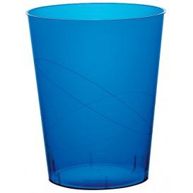 Vaso de Plastico Moon Azul Transp. PS 350ml (200 Uds)