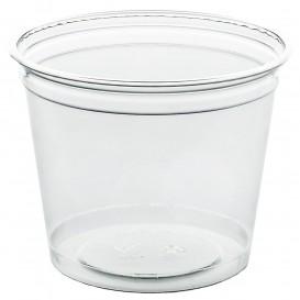 Plastic beker PET stijf 215ml Ø8,1cm (50 stuks)