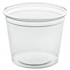 Plastic beker PET stijf 215ml Ø8,1cm (1.000 stuks)