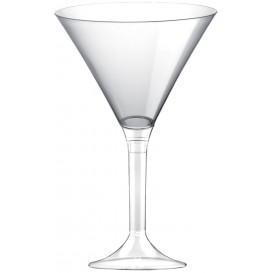Plastic stamglas transparant transparant 185ml 2P (20 stuks)