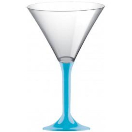 Plastic stamglas Cocktail turkoois 185ml 2P (200 stuks)