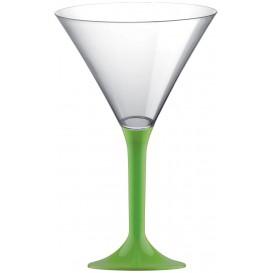 Plastic stamglas Cocktail limoengroen 185ml 2P (20 stuks)