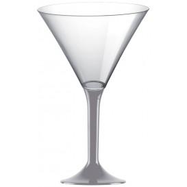 Plastic stamglas Cocktail grijs 185ml 2P (200 stuks)
