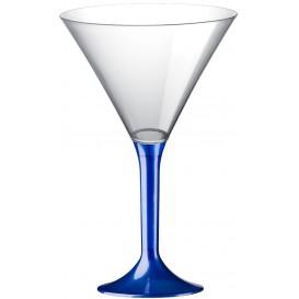 Plastic stamglas Cocktail blauw parel 185ml 2P (200 stuks)