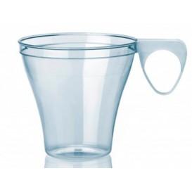 Taza de Plastico Transparente 80ml (1200 Unidades)
