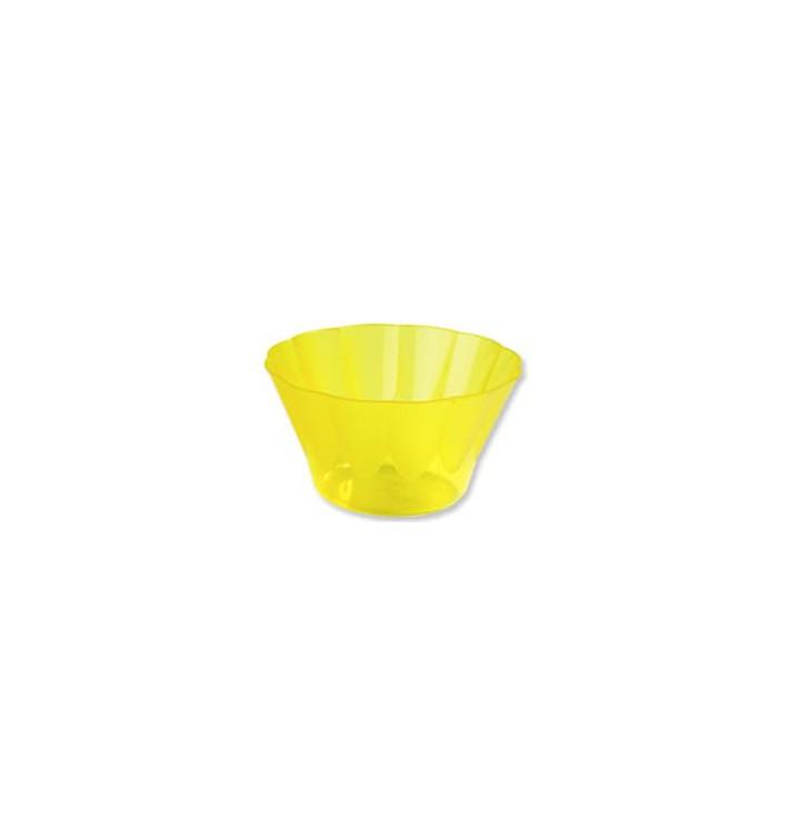 """Plastic beker """"Roenal"""" voor Cocktail geel 500ml (25 stuks)"""