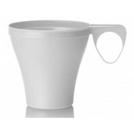 Taza de Plastico Blanca 80ml (40 Unidades)